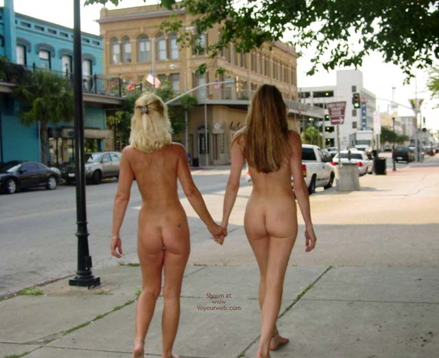 Pic #7 - Let'S Walk Naked Around Downtown!!