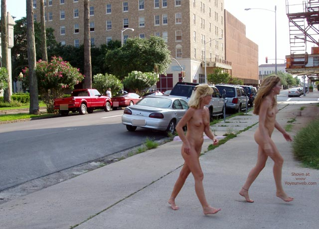 Pic #10 - Let'S Walk Naked Around Downtown!!