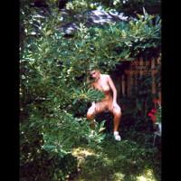 Naked Girl in My Backyard