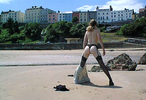 Pic #7 - Corinne Does Tenby UK 1
