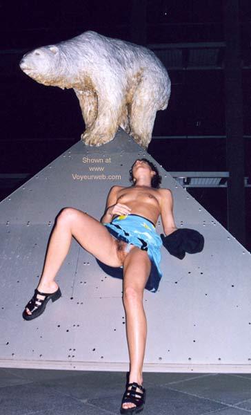 Pic #4 - Anika and The Bear...grrrrr