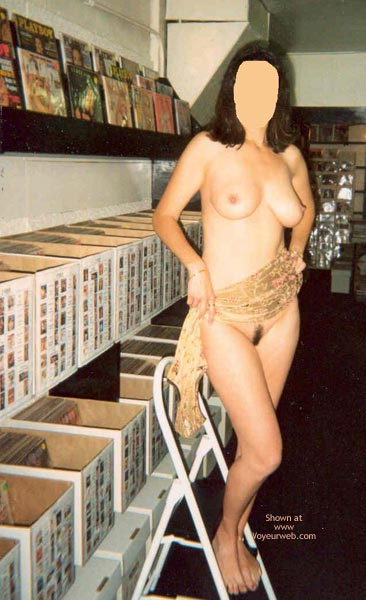 Pic #6 - Angie At Playboy Store