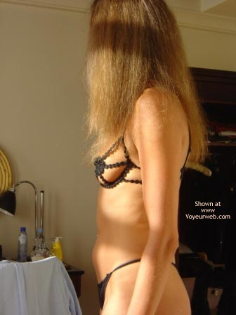 Pic #8 - Getting Dressed To Go Out