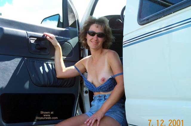 Pic #3 - Val Washing The Van