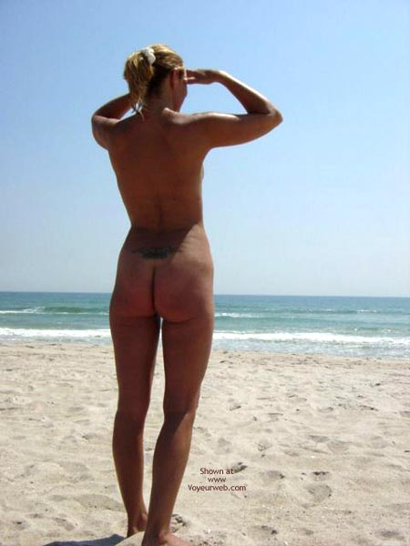 Pic #8 - First Time At Nude Beach