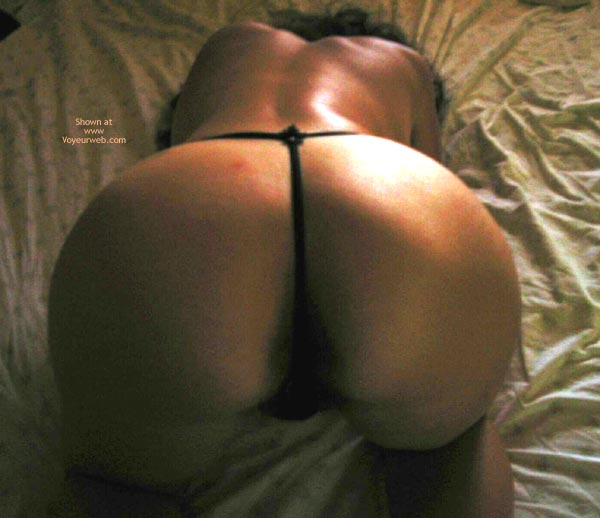 Pic #2 - Great Ass Drilling By Little Thong