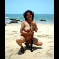 Naughty Recreation On Lonely Beach
