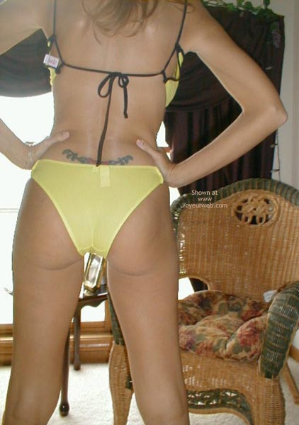 Pic #1 - Dutch Marie String/Thong Showing