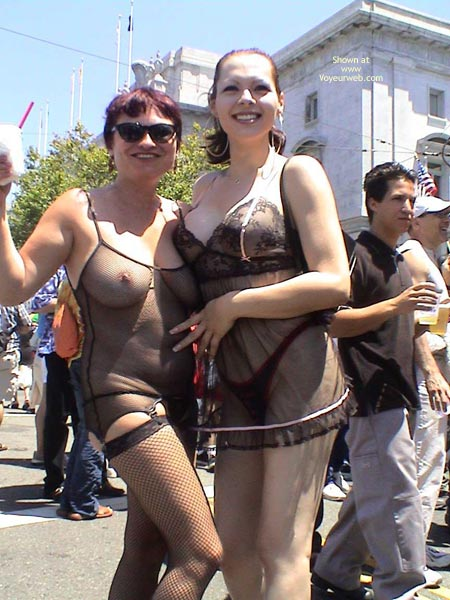 Pic #1 - Nikol At San Francisco Gay Pride 2003 2