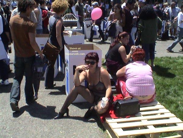 Pic #4 - Nikol At San Francisco Gay Pride 2003 2