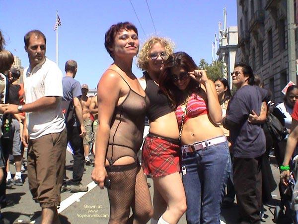 Pic #7 - Nikol At San Francisco Gay Pride 2003 2