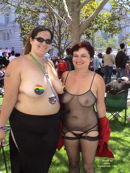 Pic #8 - Nikol At San Francisco Gay Pride 2003 2