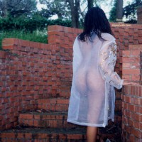 See Thru Outside - Long Hair, Nude Outdoors