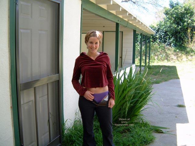 Pic #4 - In The Backyard