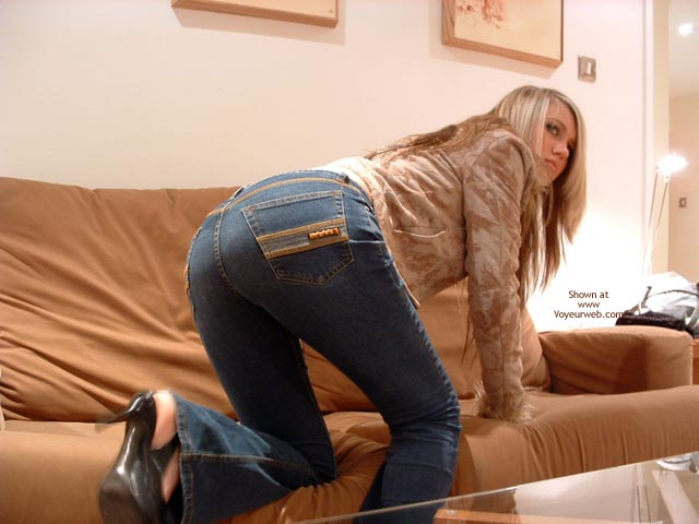Pic #7 - Candy Topless In Tight Jeans