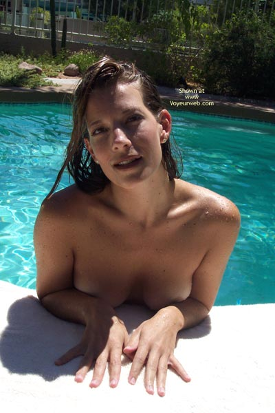 Pic #1 - Floating Tits And Ass - Brunette Hair , Floating Tits And Ass, Wet Brunette
