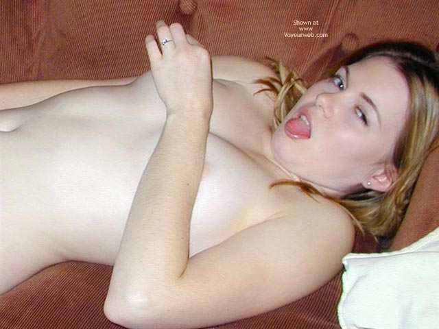 Pic #1 - Pale Skin - Pale Skin, Pale Skin, Lying On Couch, Arm Covering Breasts