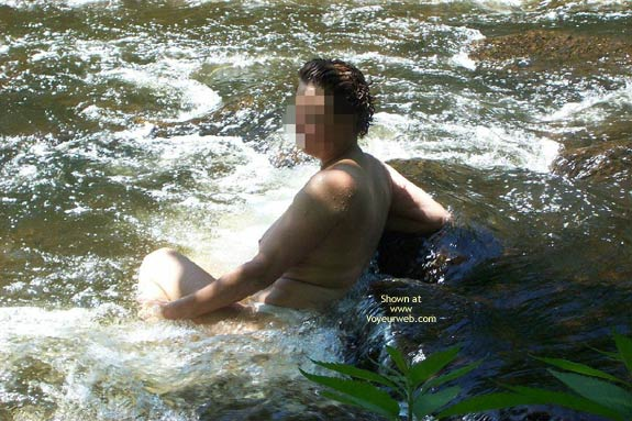 Pic #3 - Badgergirl In The Rapids Two