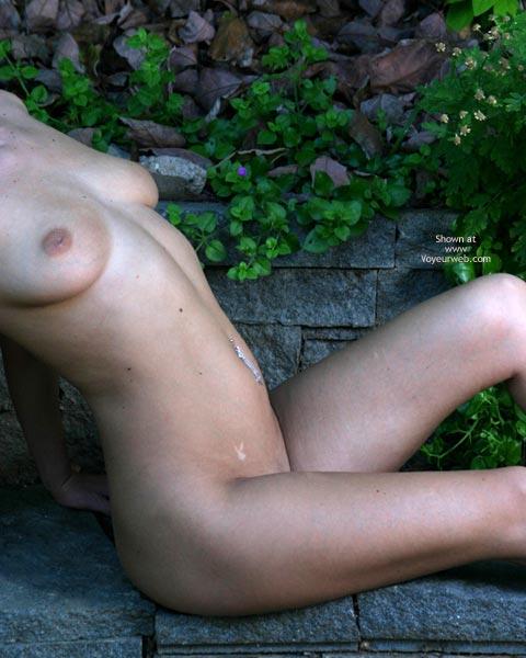 Pic #2 - Alyssa In The Backyard