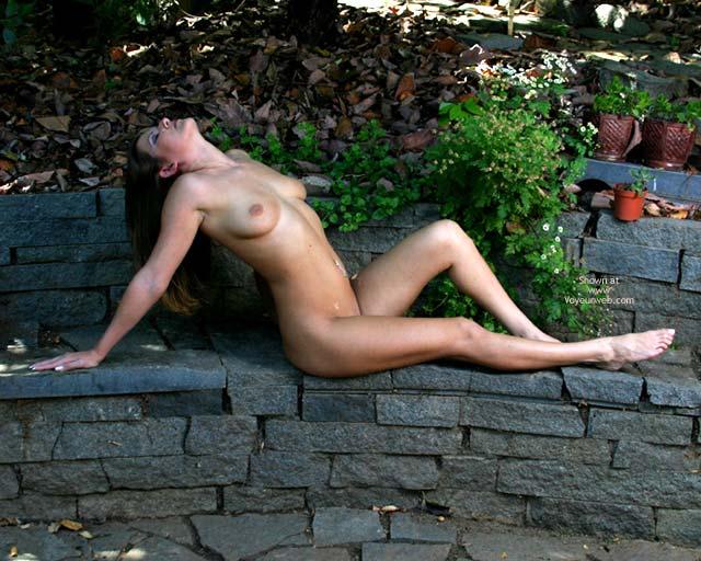 Pic #3 - Alyssa In The Backyard
