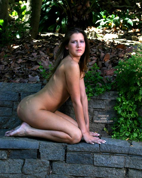 Pic #4 - Alyssa In The Backyard