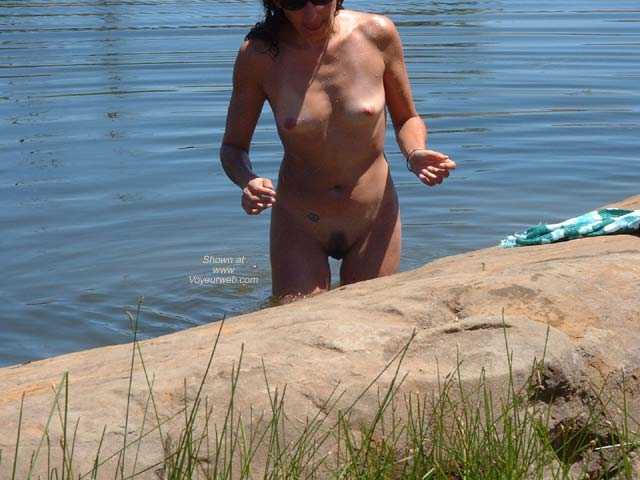 Pic #3 - First Time Wife at Pond