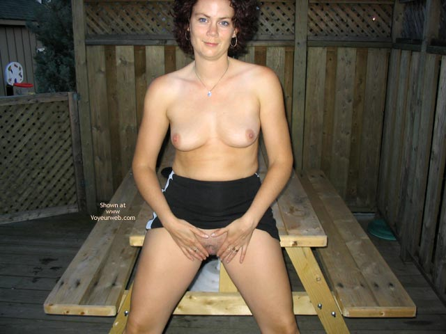 Pic #7 - Suzanne On The Deck