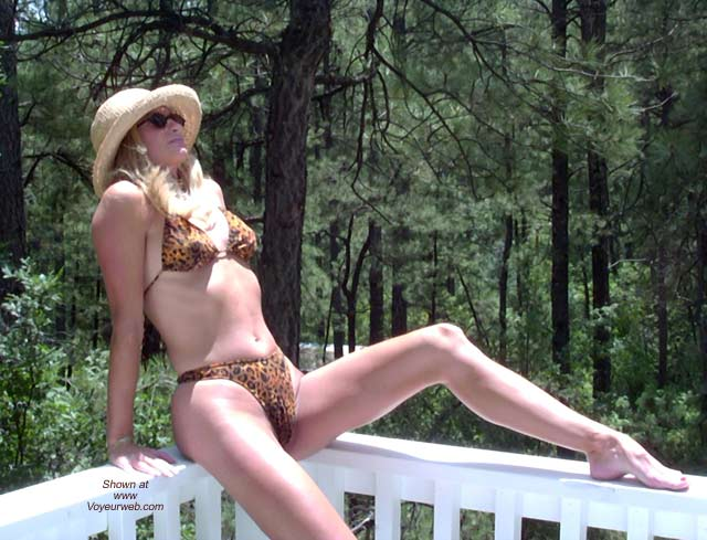 Pic #1 - The Enchantress Does Leopard Bikini!!!