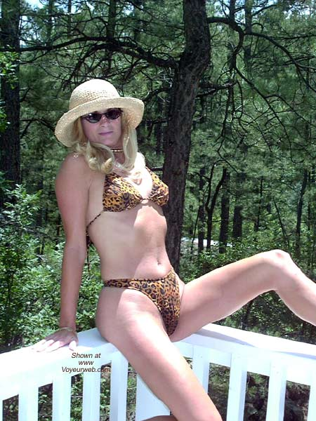 Pic #2 - The Enchantress Does Leopard Bikini!!!