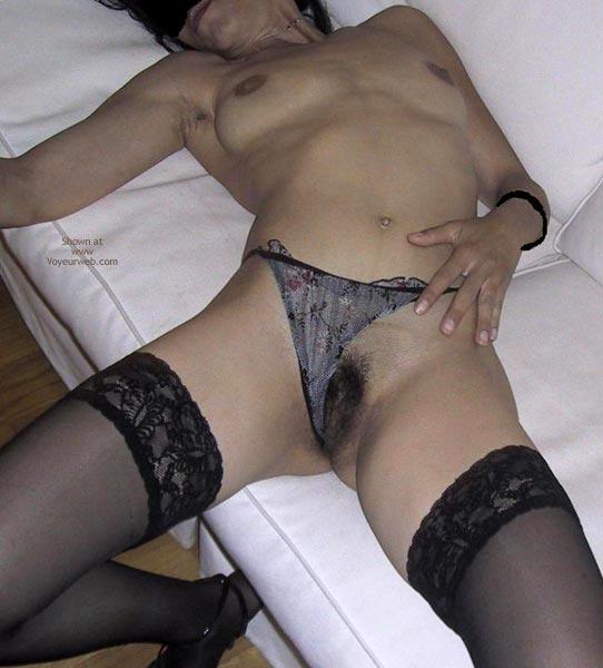 Pic #8 - Mia Moglie Elisa In Black Stockings Andheels2