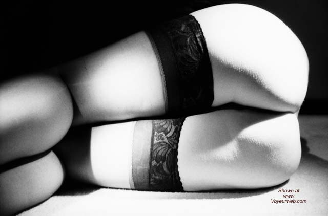 Pic #4 - Wife in Black and White