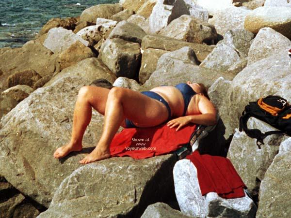 Pic #5 - Hidden Cam Pics Of My Sunbathing Gf
