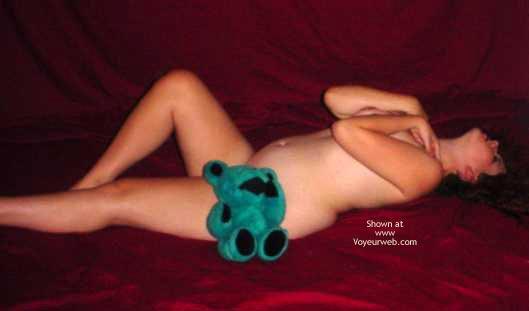 Pic #6 - Preggo Fairy And Her Teddy