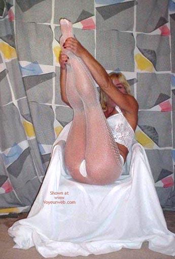 Pic #2 - Laney In Fishnet Pantyhose