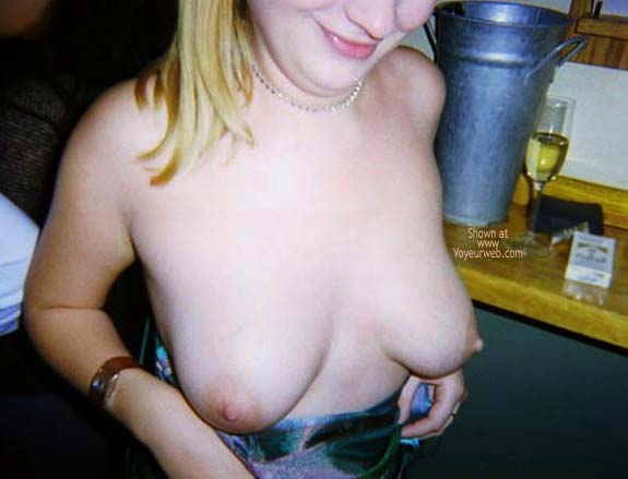 Pic #3 - Tits Out in Club