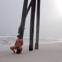 *Bk Soo Hot At The Beach-N-Blue Thong 2