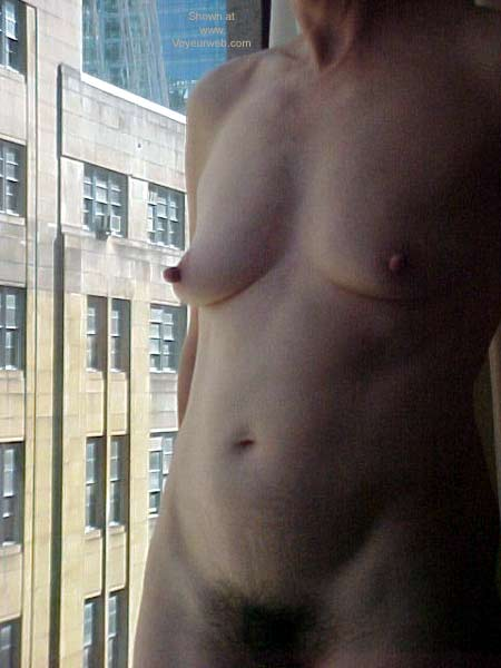 Pic #2 - Naked at The Hotel Window
