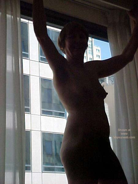 Pic #3 - Naked at The Hotel Window