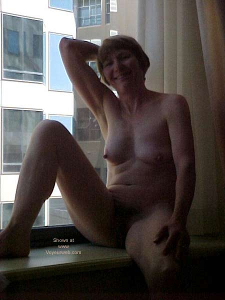 Pic #4 - Naked at The Hotel Window
