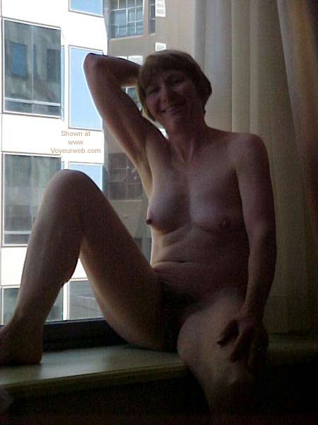 Pic #5 - Naked at The Hotel Window