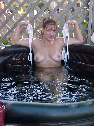 Pic #7 - Pandora in The Hot Tub 2