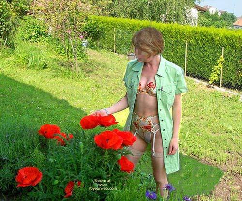 Pic #1 - Fs*Julie Hsavoie In Her Garden
