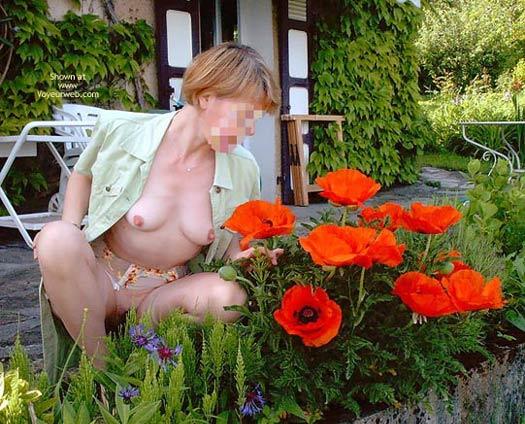 Pic #3 - Fs*Julie Hsavoie In Her Garden