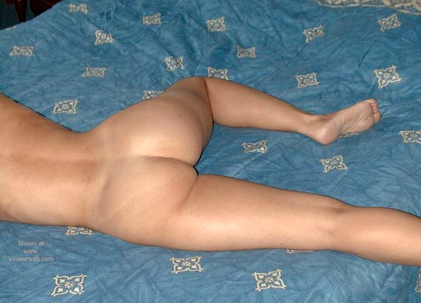 Pic #4 - Redhead on The Bed 1