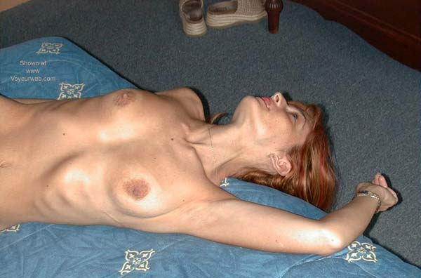 Pic #5 - Redhead on The Bed 1