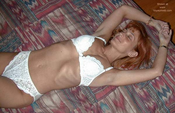 Pic #1 - Redhead on The Bed 2