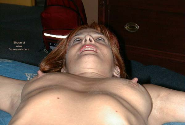 Pic #4 - Redhead on The Bed 2