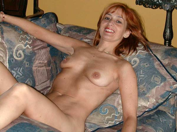 Pic #5 - Redhead on The Bed 2