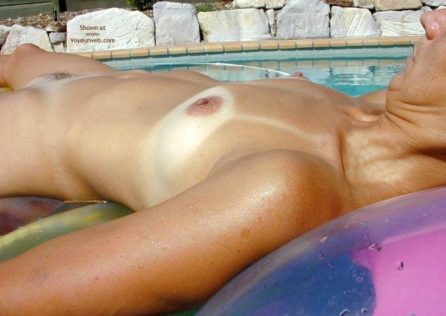 Pic #3 - Claudia At Friend'S Pool 3