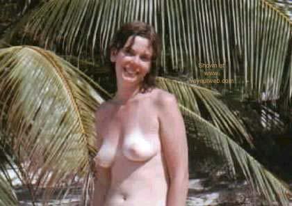 Pic #1 - Jill Topless at Beach Hotel